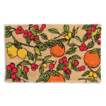 Citrus Kitchen Coir Mat
