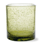 Bubble Glass Olive Double Old Fashioned