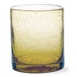 Bubble Glass Wheat Double Old Fashioned