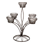 Criss Cross Candelabra