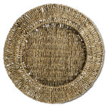 Seagrass Charger Plate