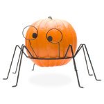 Halloween Spider Large Pumpkin  Stand