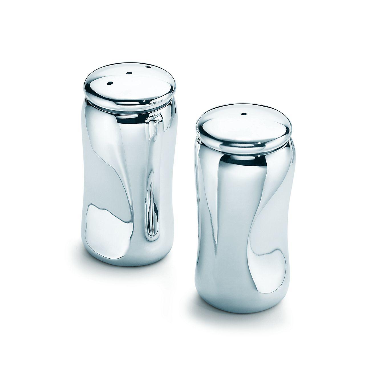 elsa peretti® thumbprint salt and pepper shakers silver  - elsa peretti®thumbprint salt and pepper shakers