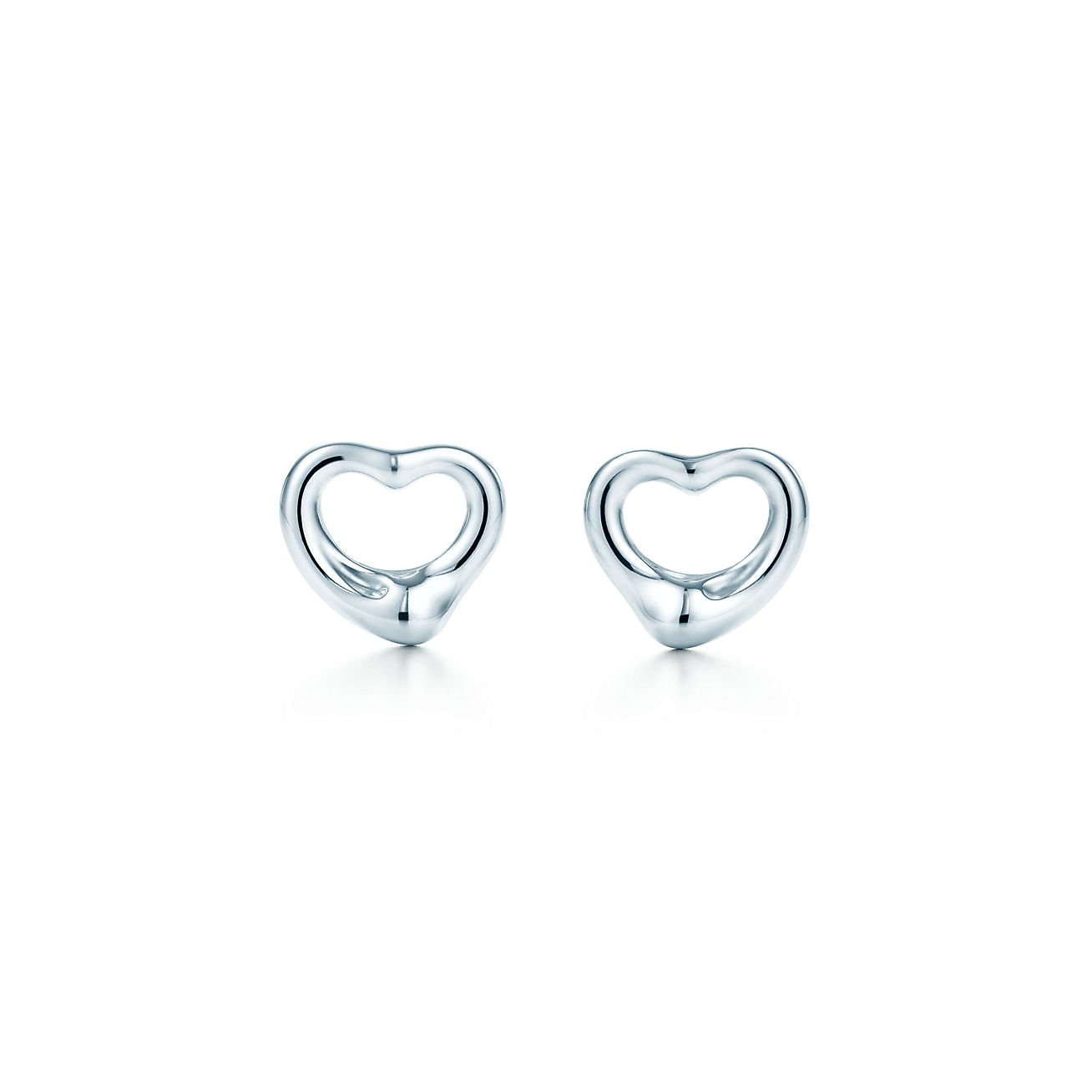 Jewelry Earrings Elsa Peretti Open Heart Earrings 12270062 Tiffany Earrings Heart