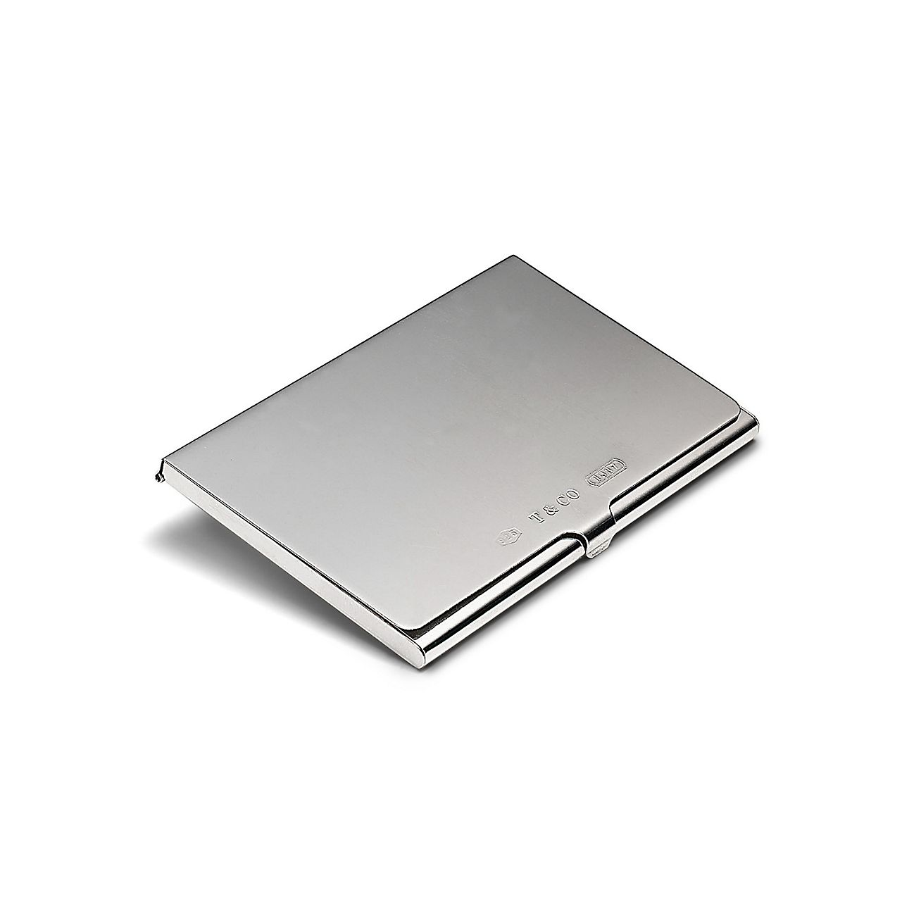 shop tiffany 1837® sterling silver business card holder  tiffany