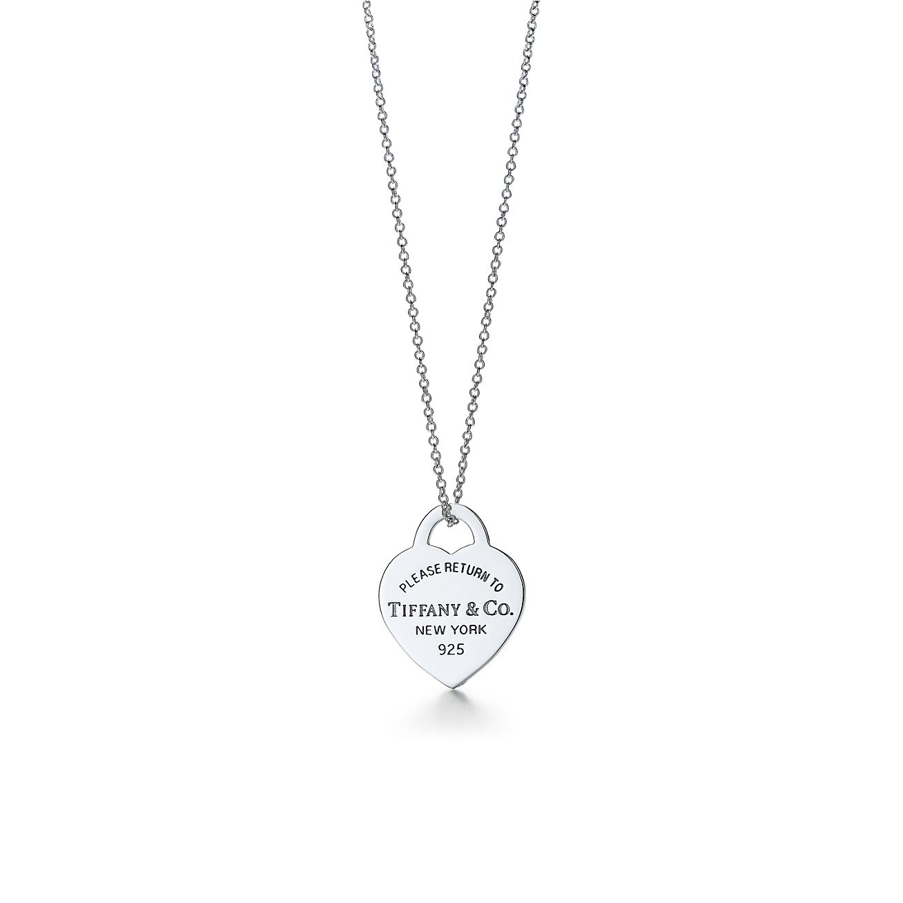 Jewelry Necklaces Pendants Return To Tiffany Heart Tag Pendant Grp01461 Tiffany Chain Necklace