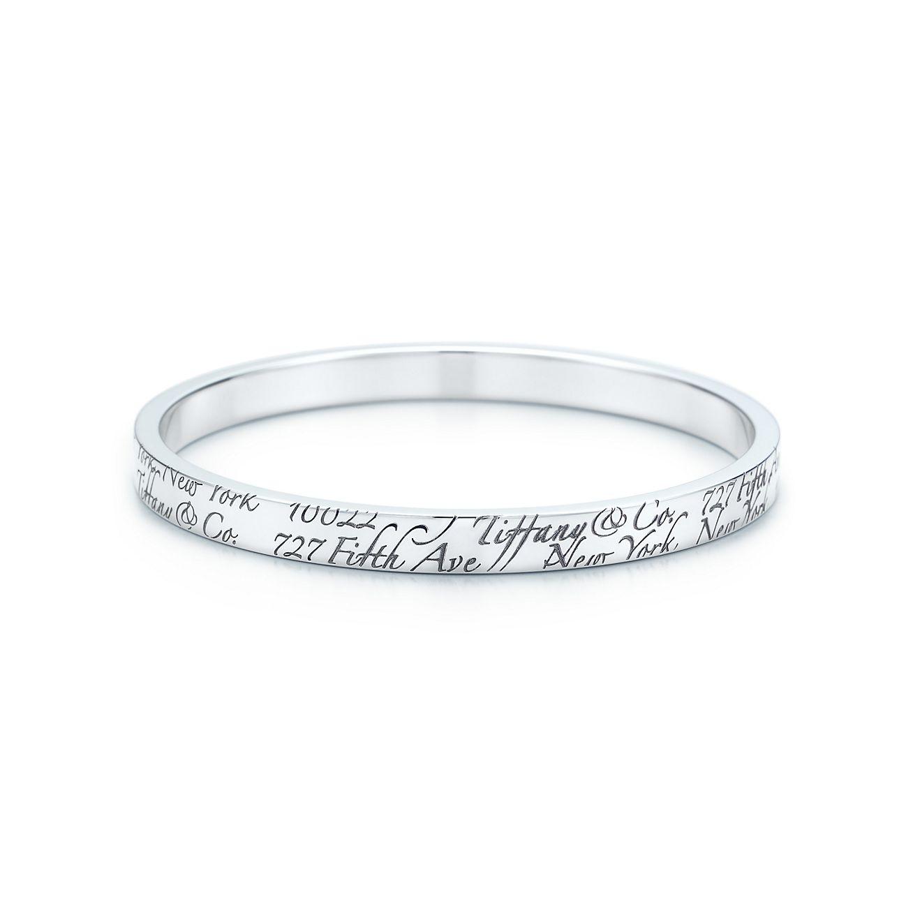 Jewelry Bracelets Tiffany Notes Bangle 23019442 Tiffany Bangle Bracelet