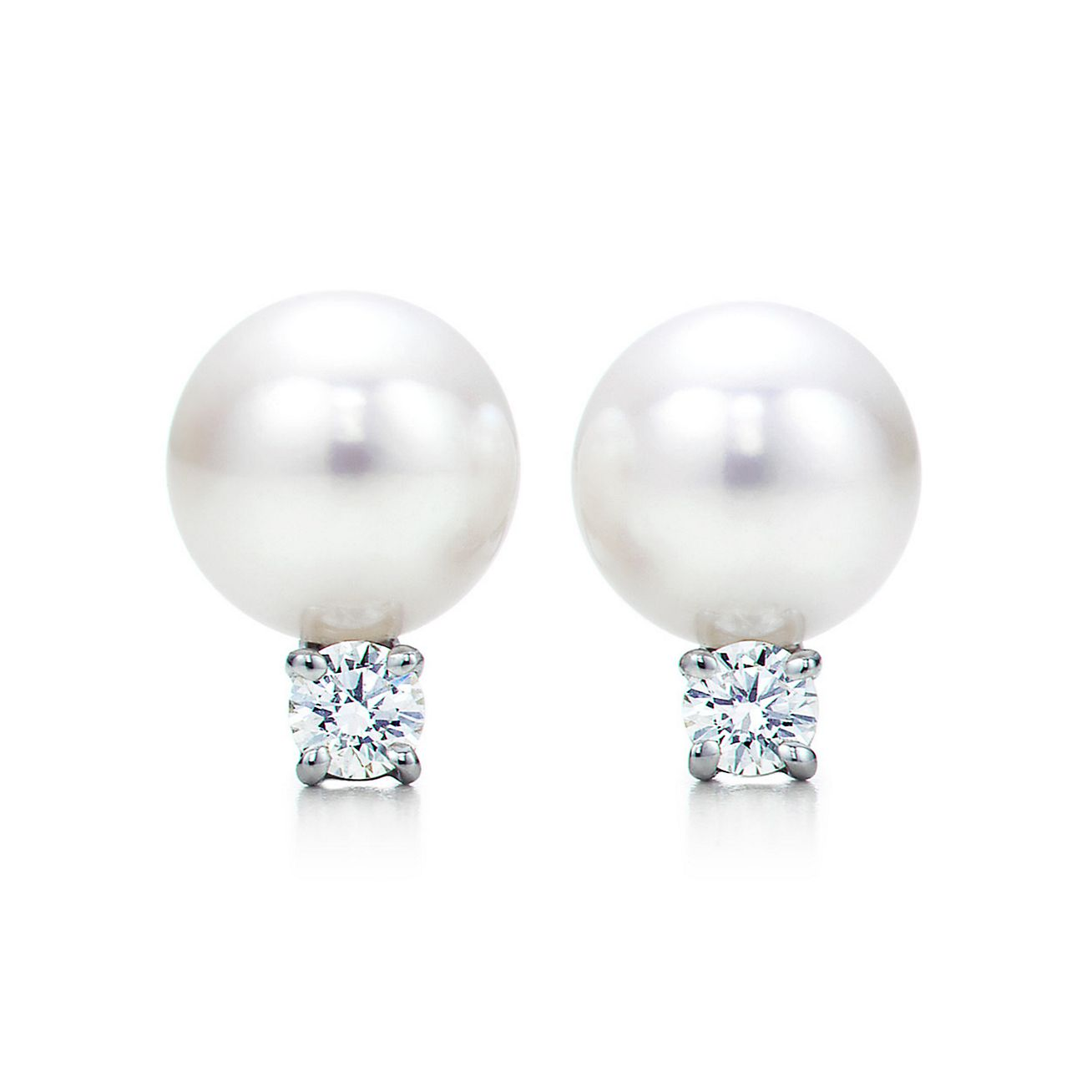 Tiffany Signature®:pearl Earrings