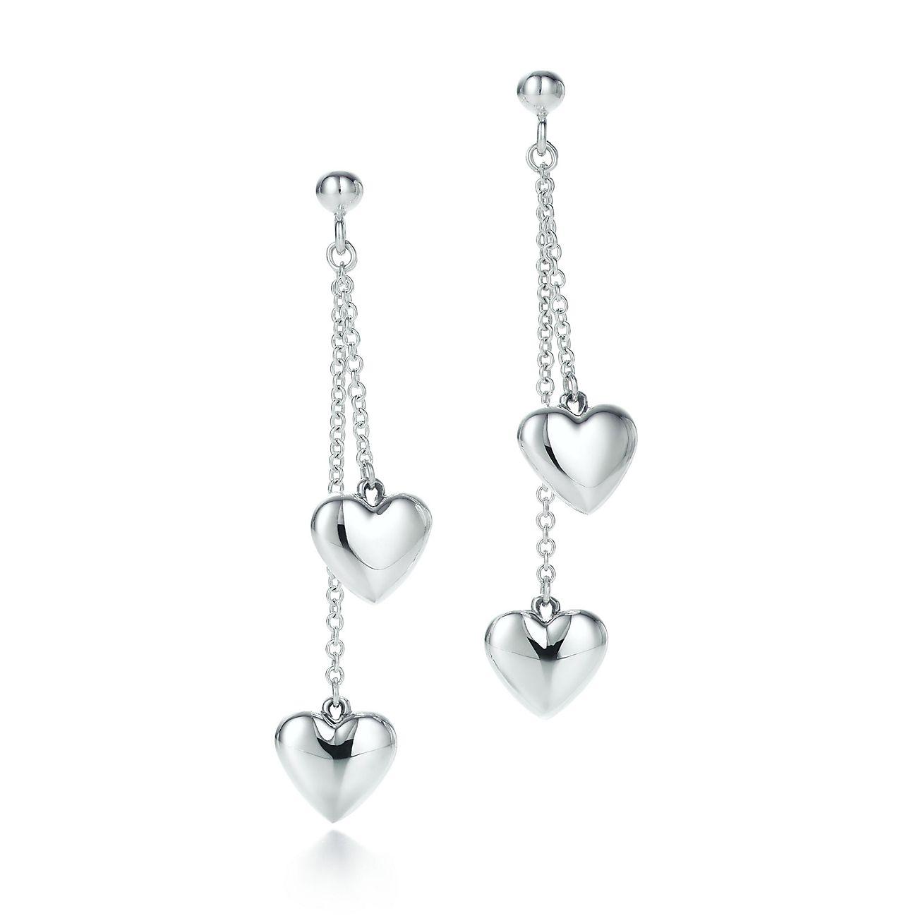 Double Heart Earrings TopEarrings – Tiffany Chandelier Earrings