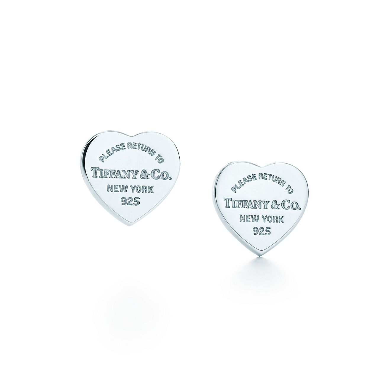 Jewelry Earrings Return To Tiffany Mini Heart Tag Earrings 23900564 Tiffany Earrings Sterling