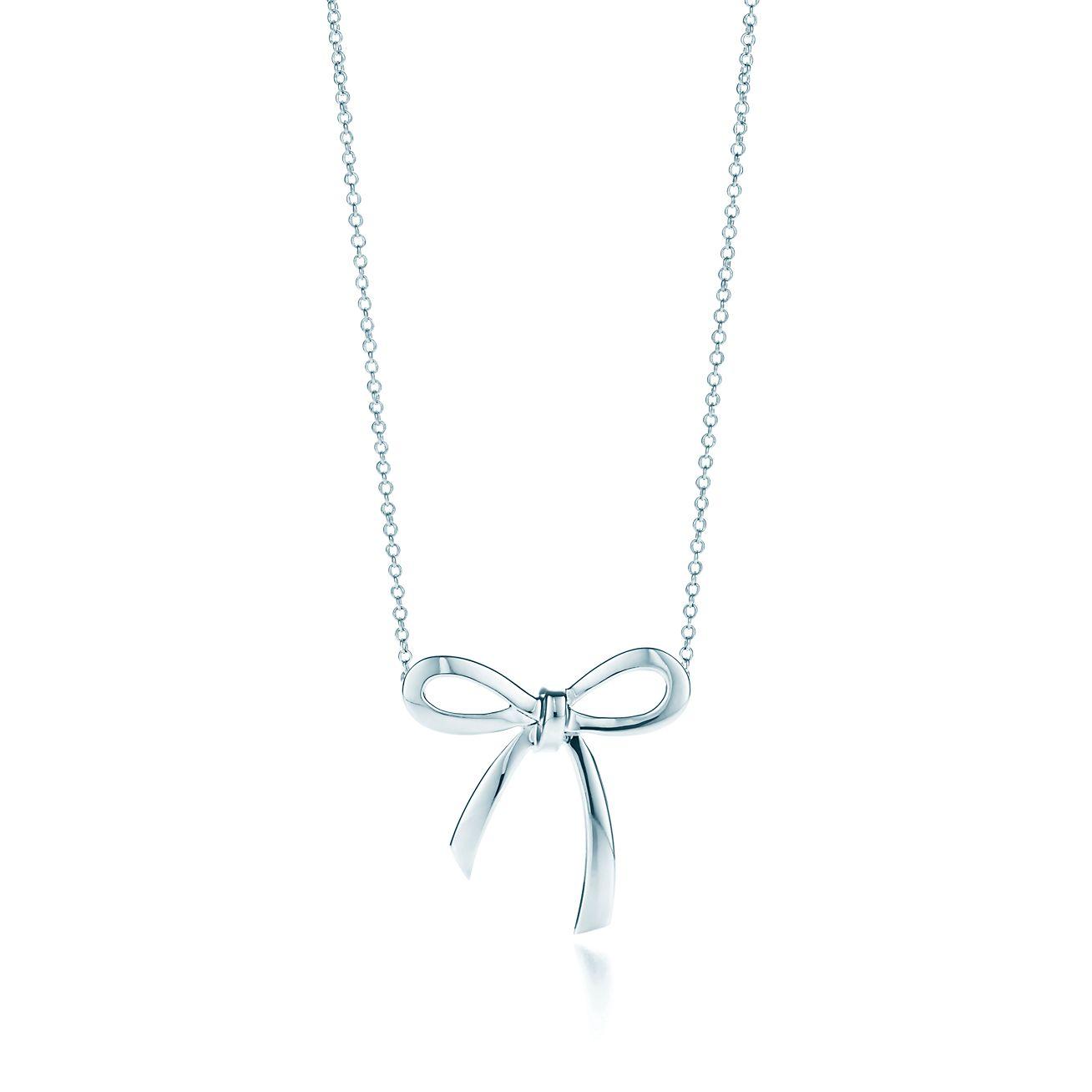 ab32c4c3d ... bow necklaces tiffany; bow pendant bow pendant ...