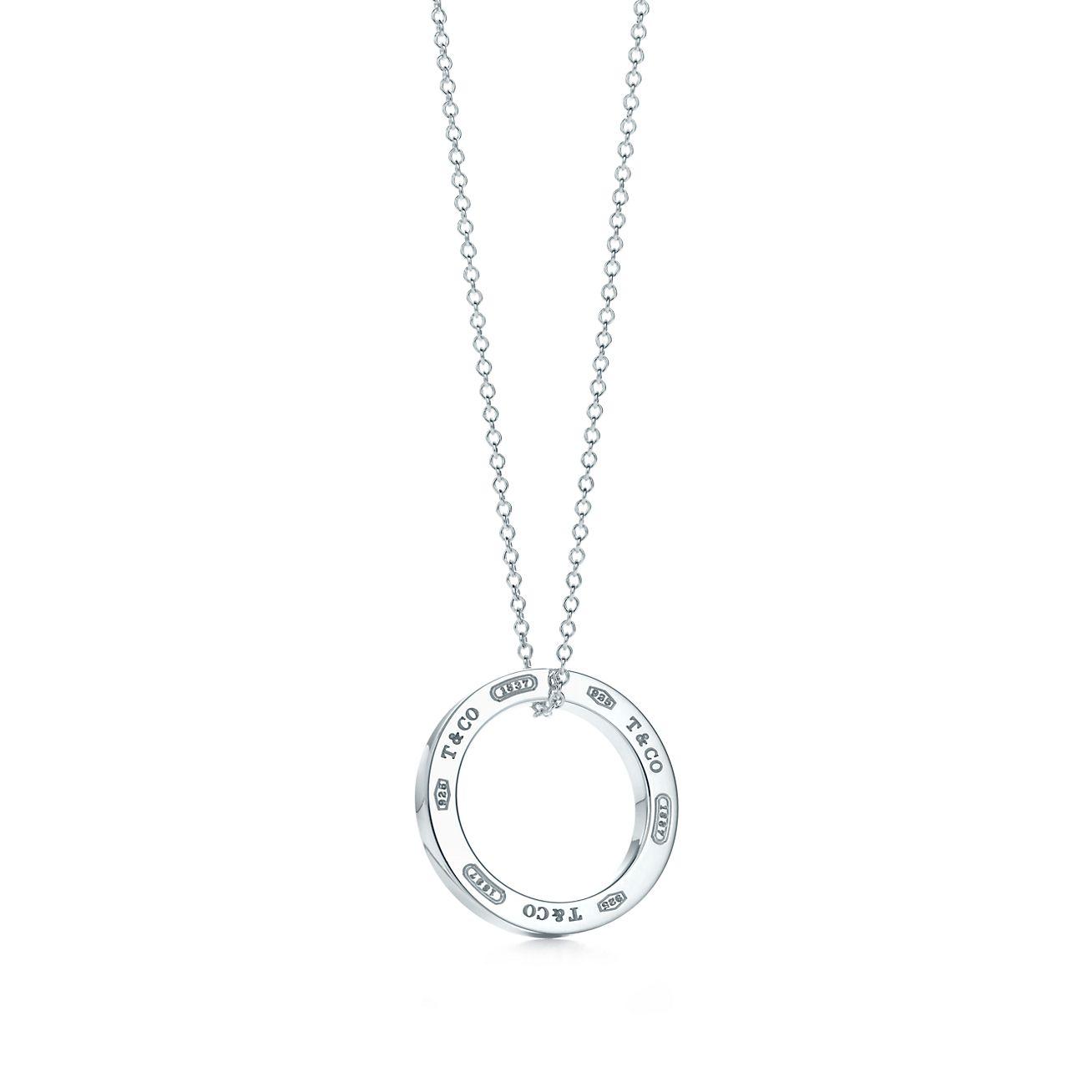 New Tiffany 1837™ Circle Pendant In Sterling Silver, Medium