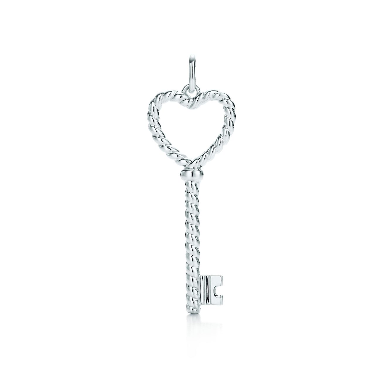 Explore Tiffany Silver Jewelry Tiffany Keys Twist Heart Key Pendant 26741297 Tiffany Keys