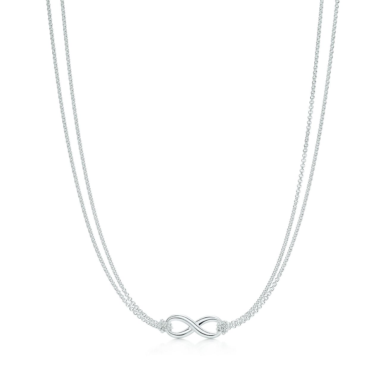 Explore Tiffany Silver Jewelry Tiffany Infinity Pendant 26758432 Tiffany Chain Necklace