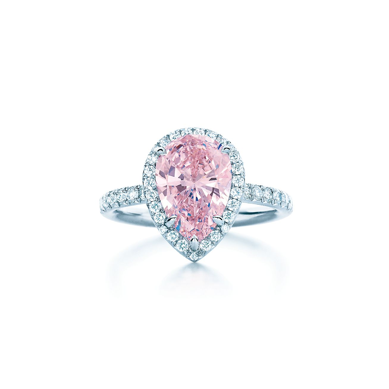 pear shaped diamond rings tiffany jewellery en wedding rings tiffany pear shaped pink diamond ring in platinum with white diamonds