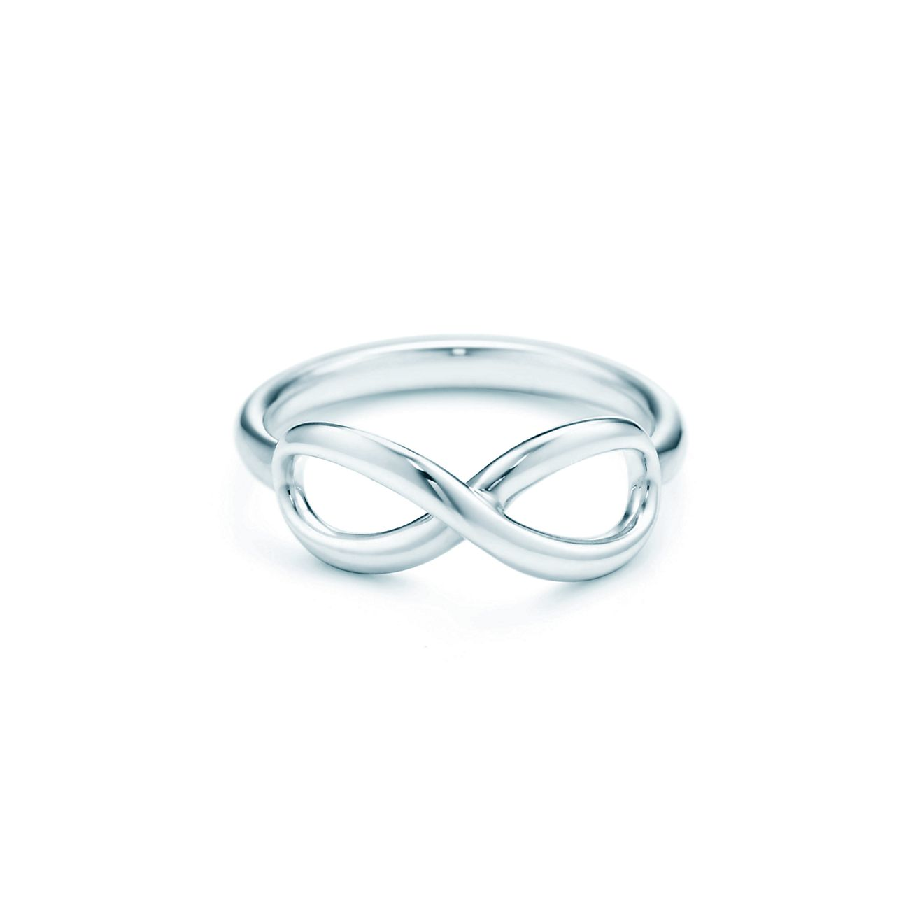 Tiffany Infinity sterling silver ring