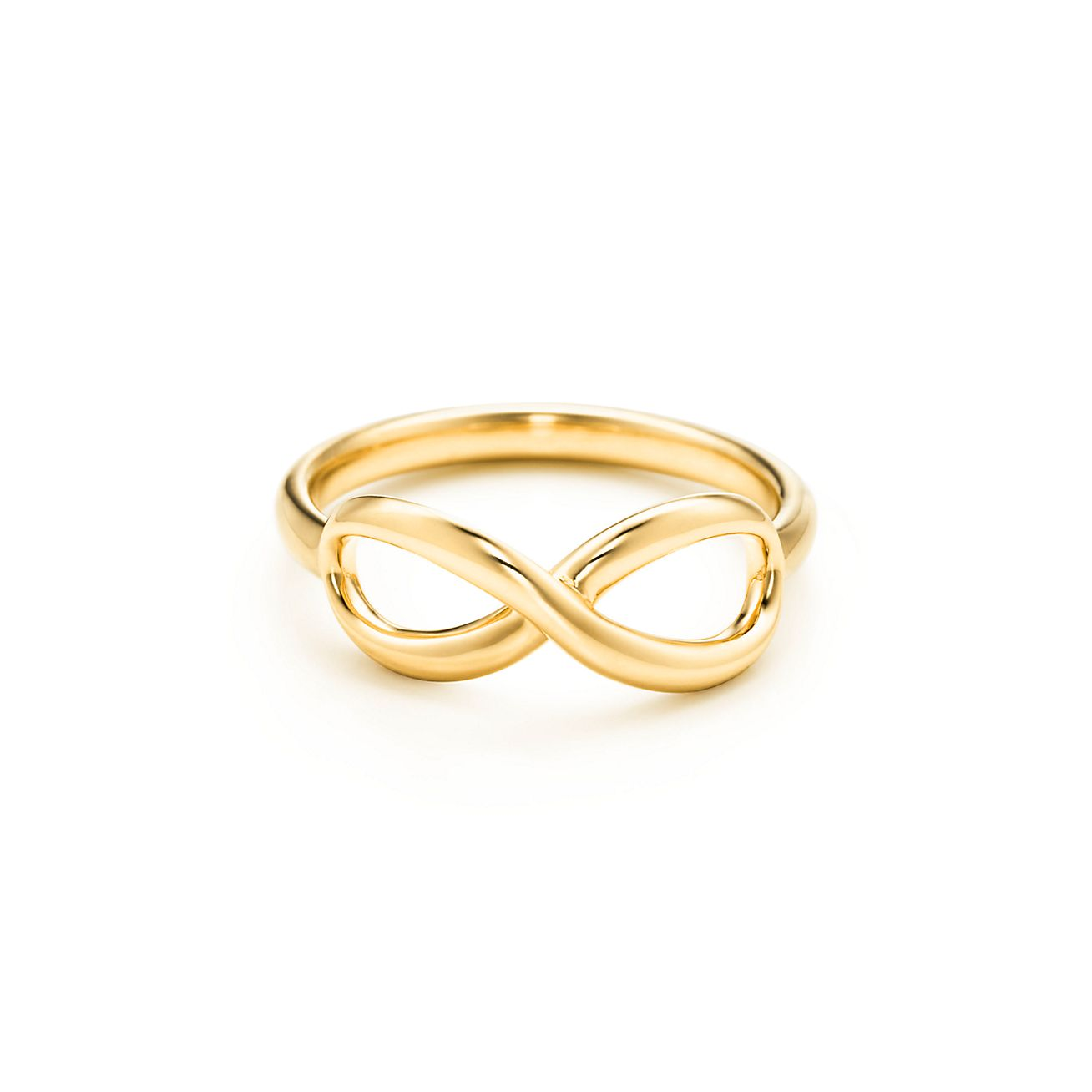 Ring gold  Tiffany Infinity ring in 18k gold. | Tiffany & Co.