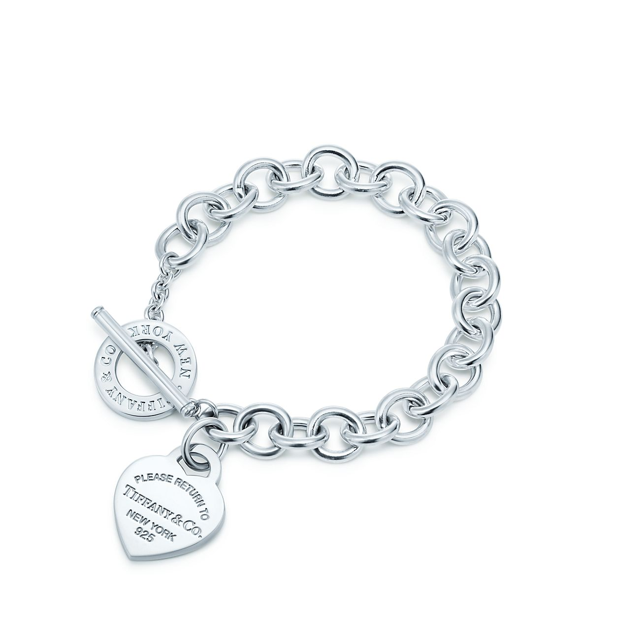 Jewelry Bracelets Return To Tiffany Heart Tag Toggle Bracelet Grp06971 Tiffany Jewelry Free Shipping