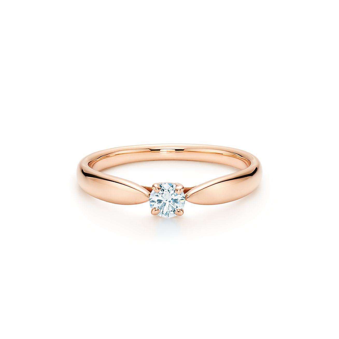 Tiffany Heart Bracelet >> tiffany and co rings rose gold