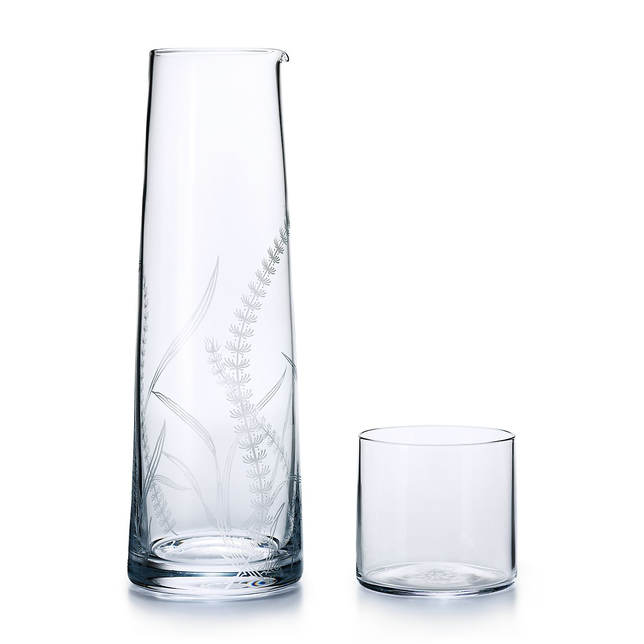 Bedside Decanter And Tumbler