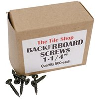 Backerboard Screw 1 1/4 in (500 per box)
