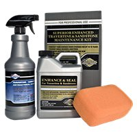 Superior Enhance & Seal for Travertine & Sandstone Kit