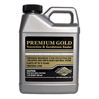 Superior Premium Gold Sealer for Travertine & Sandstone Quart