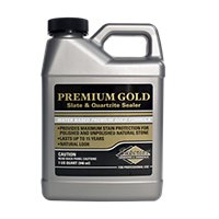 Superior Premium Gold Sealer for Slate & Quartx Quart