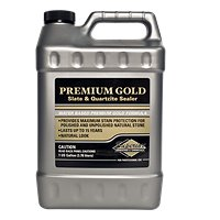 Superior Premium Gold Sealer for Slate & Quartz Gallon