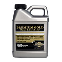 Superior Premium Gold Sealer for Marble & Onyx Quart