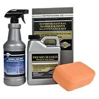 Superior Premium Gold Sealer for Marble & Onyx Kit