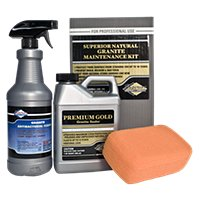 Superior Premium Gold Sealer for Granite Kit
