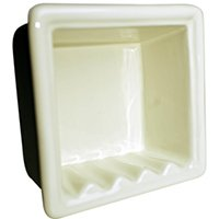 Recessed Soap Dish Bone