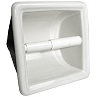 Recessed Paper Holder Ice Whit