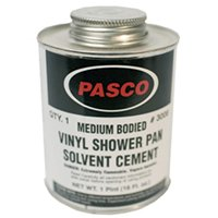 Shower Liner Solvent Cement