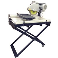 10 in Wet Saw with Stand