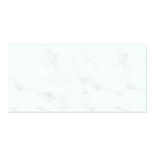 Carrara Gris REXR (Double Bullnose Right Side) 4 x 8 in