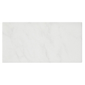 Carrara Gris Gloss (Single Bullnose Short Side 3 x 6 in