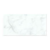 Carrara Gris GlossREXL (Double Bullnose Left Side) 3 x 6 in