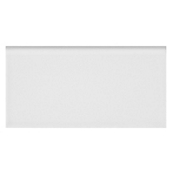 Imperial Bianco Gloss Long Side Bullnose 3 x 6 in