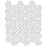 Hex Gloss White 2 x 2 in