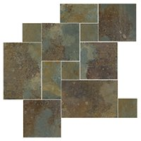 Copper Rust Large Versailles Pattern 15.50 SF