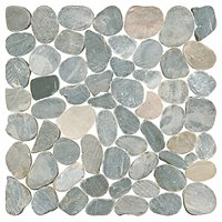 Dusty Grey Pebbles 12 x 12 in