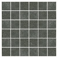 Shanxi Black Flamed 2 x 2 in