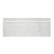 Hampton Carrara Polished Skirting 4.75 x 12 in