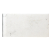 Hampton Carrara Satin Short Side Bullnose 3 x 6 in