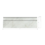 Lansdale Carrara Skirting 12 in
