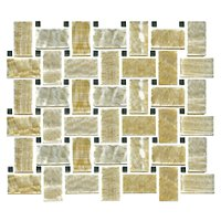Honey Onyx Sable Creme Niles 12 x 12 in