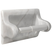 Hand Carved Lansdale Hampton Carrara Paper Holder
