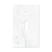 Lansdale Carrara Hampton Toggle  Switch Plate 2.75 x 4.5 in